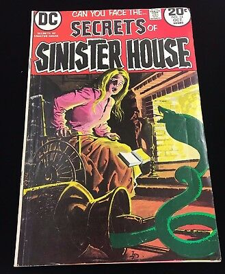 Secrets Of Sinister House # 14 DC Comics 1973