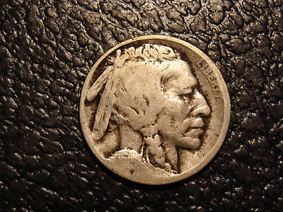 Nice Original Better Date 1915-D Buffalo Nickel G-VG WE COMBINE ON SHIPPING