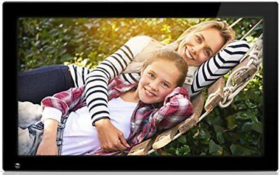 Nixplay Original 18.5 inch WiFi Cloud Digital Photo Frame. iPhone & Android App,