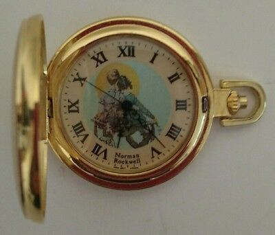 Norman Rockwell Pocket Watch