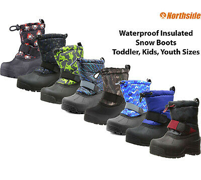 Kids Winter Boots Insulated Waterproof Northside Frosty Snow Boots -10F Warm NEw