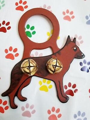 Belsnickel Bells Dog German Shepherd Bell Door/ Ornament Christmas Dog Lover USA
