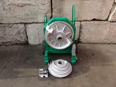 Greenlee 555 Bender 1/2 - 2 Inch Rigid Pipe Electric Bender Works Great #2