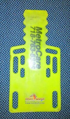 Used Iron Duck 35955-Yellow Ultra Short Board Spinal Immobilization Backboard