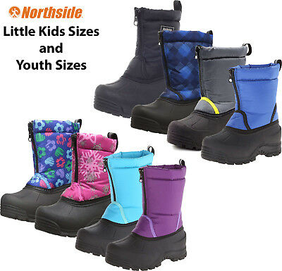 Kids Winter Boots Insulated Waterproof Northside Icicle Fleece Lined Snow Boots