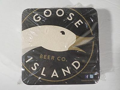 (NEW) Goose Island Beer Coasters -  25 Pack - Free Shipping