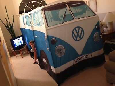 VW Bus Tent from Monster Factory (Blue)