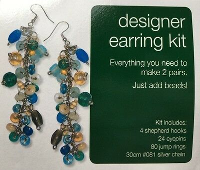 Earring Findings Kit No: 2 - Gold - New