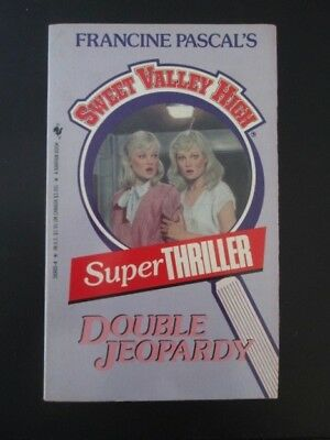 SWEET VALLEY HIGH - Francine Pascal SUPER THRILLER Double Jeopardy unread