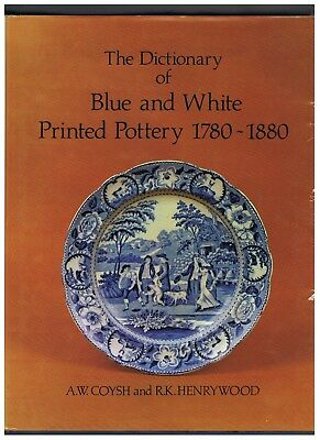 Chamberlain-Worcester Porcelain & Blue & White Dictionary  2 Large Books