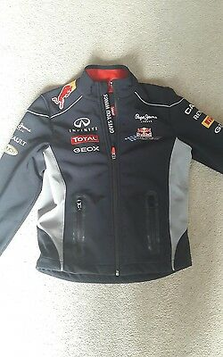 Red Bull Pepe Jeans racing jacket age 10