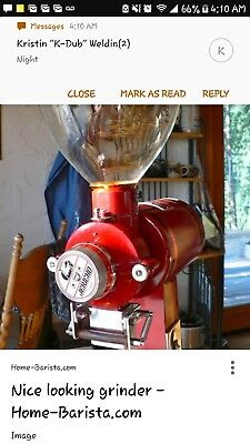 commercial coffee grinder professional industrial restaurant cafe jeticho j-500