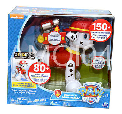 Paw Patrol Zoomer Marshall Interactive Pup Missions & Tricks Sounds OUT OF STOCK