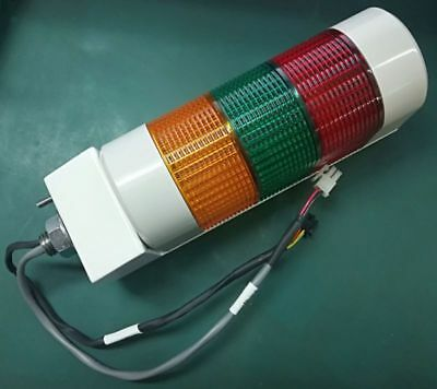 *NEW* Patlite Type: WME-AFB 24VDC 3-Coloured Amber-Green-Red Light Tower