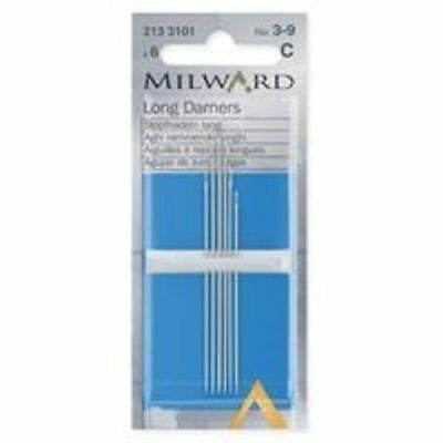 Milward Darner Darning Needles - Choice of size