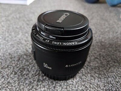 Canon EF 50mm F/1.8 II Lens in excellent condition and barely used!