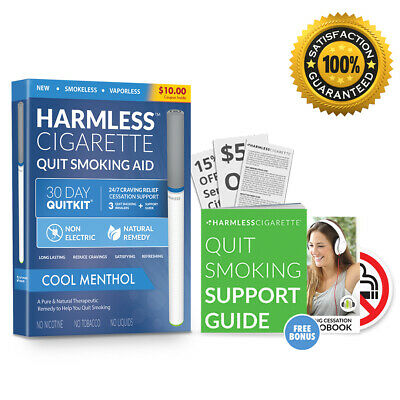 Harmless Cigarette Oxygen Smokeless inhaler, Natural Therapeutic Remedy