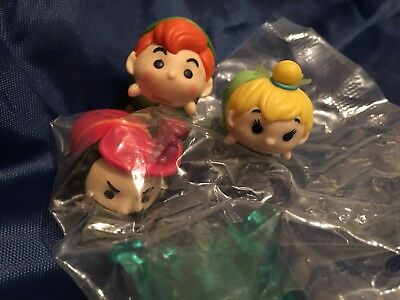 Disney Tsum Tsum Vinyl Medium Cptn Hook, Peter Pan And Tinkerbell