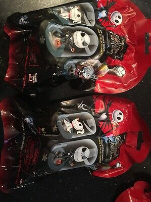 3x Disney The Nightmare Before Christmas 3 blind bags Domez Collectible Seri 1