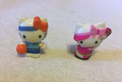 Squinkies Hello Kitty Series 6 Sports 2 Figures Golf Basketball ✔️