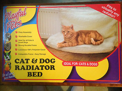 Cat Dog Puppy Radiator Pet Bed Warm Washable Polyester Cover Basket Cradle New