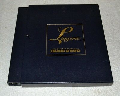 IMAGINE LINGERIE MAGAZINE Secret Art of Seduction PHOTO BINDER w CARD COLLECTION