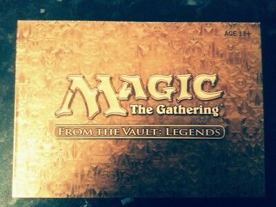 MTG Magic the Gathering From the Vault: Legends New box limited time  offer