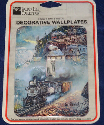 Locomotive Decorative Wallplate (Walden Hill Collection)