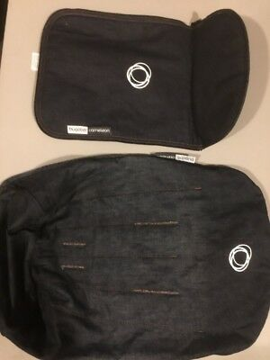 Bugaboo Cameleon Two Piece Denim Fabric Set Very Rare And New Condition