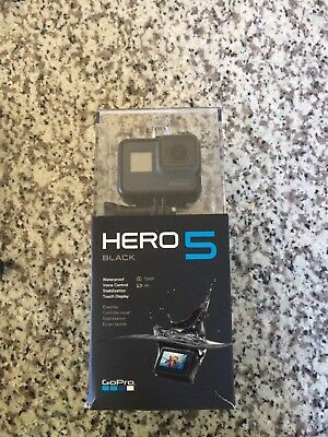 GoPro Hero 5 Black Edition Action Camera with many accessories