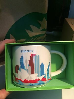US SELLER!! Starbucks Sydney Mug YAH Australia  Opera Bridge Darling Harbour Eye