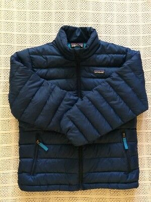 PATAGONIA Boys Puff Jacket Size M In Excellent Condition