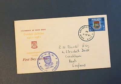 Hong Kong British Colonies Asia  First Day Cover - Golden Jubilee Lot (Hko 07)