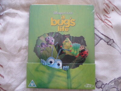 "Disney Pixar ""a Bugs Life"" Blu Ray Steelbook Uk Ltd Edt  Still Sealed Oop & Oos"
