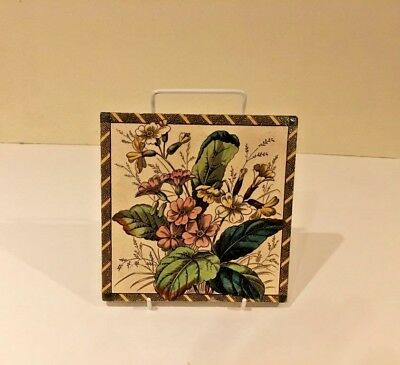 Victorian Transfer Printed Tile(6)