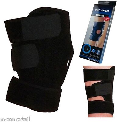 Neoprene Patella Elastic Knee Brace Support Gym NHS Adjustable Stabilising Strap