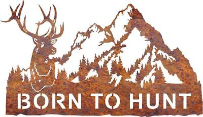 DXF CNC dxf for Plasma Router Vector  Mule Deer Mountain Wall Decor Hunting