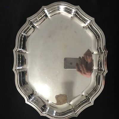 Chippendale Silverplate Platter 699
