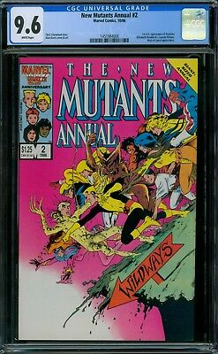 New Mutants Annual 2 CGC 9.6 - White Pages - No Reserve Auction