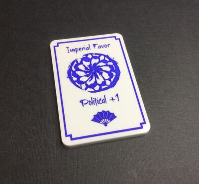 Legend of the Five Rings - Acrylic 'Imperial favour' token