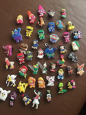 100 Randomly Picked Girls Shoe Charms Wristband,Crafts, (Uk Seller)