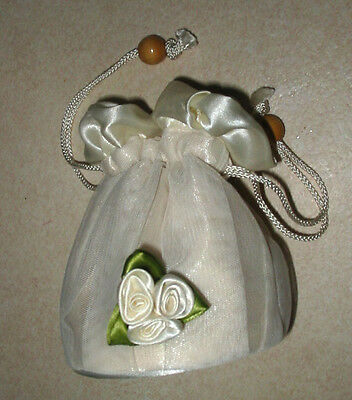 Wedding Dolly Style Ivory Colour Bag For Bride. Bridesmaid