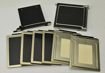 Hasselblad Cut Sheet Film Adapter With Cutter, 6 Backs / Holders