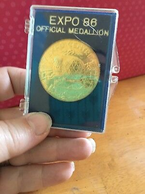 Coins - 1986 World Exposition Official Medallion