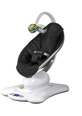 Black Classic - 4Moms, Mamaroo, Baby Swing, Bluetooth App, Excellent Condition