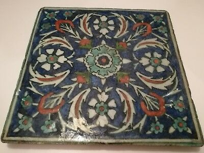 A fine 18th Century Iznik tile