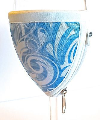 Medium Wine Glass Cooler - Swirl