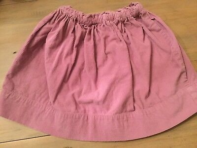 Girls purple crew cuts corduroy skirt size 4-5 years in excellent condition