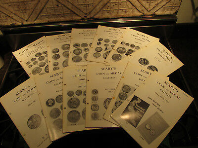 Seaby's Bulltin England Numismatic Magazine Coin Book World And Ancient 1967 Lot