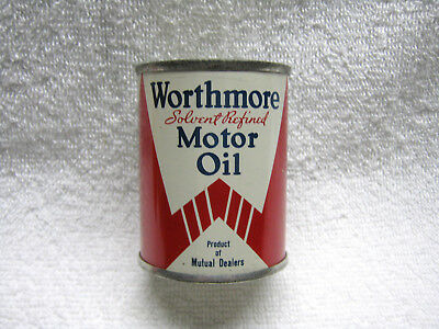 Worthmore Oil Gas Co Tin Can Bank